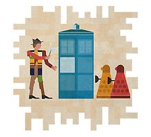ancient doctors & daleks, oh my! by Alii Marie
