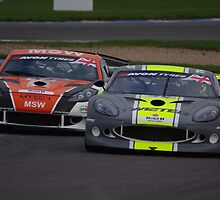 British GT 2013 Donington - Ginettas at Fogarty Esses by motapics