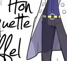Hon Hon Baguette Eiffel Tower Sticker