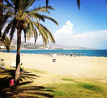 Beach Life in Málaga by omhafez