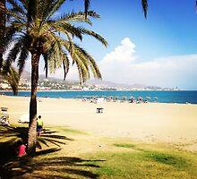 Beach Life in Málaga by omhafez