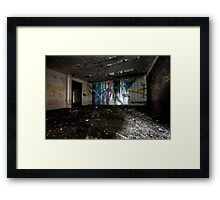 Colour Splash Framed Print