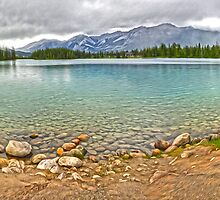 Maligne Lake, Jasper National Park by GregorDyer