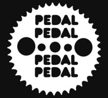 (MTB) Pedal (White) by arrowmandesigns
