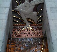 1 Rockefeller Plaza - Rockefeller Center by Gregory Dyer