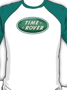 Doctor Who: Time Rover (Green) T-Shirt