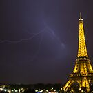 Effel tower lightening by Espressomaker