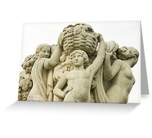 Sculptures In The Jardins Du Trocadero - 1 ©  Greeting Card