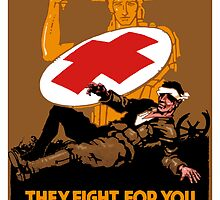 Protect Them -- Help The Red Cross by warishellstore