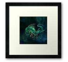 swamp dragon Framed Print