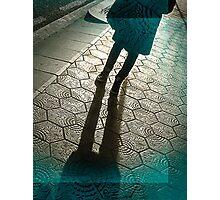 Barcelona Footpath Photographic Print