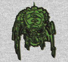 One Line Predator Portrait (version 0.2) by Squidink58