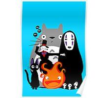 Ghibli'd Away Poster