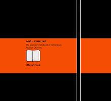 Moleskine Orange 2 by Balugix