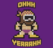 8bit Macho Man! by Declan Black