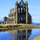 Old Whitby Abbey, Yorkshire by Pickers