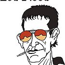 Lou Reed caricature by RFlores