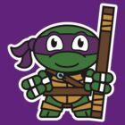 Mitesized Donatello by Nemons