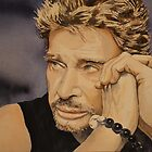 Johnny Halliday by AlineGason Aline