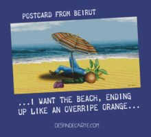A postcard from Beirut by Eric Tchijakoff