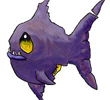 Purple Zombie Fish by Cantus