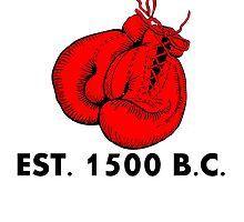 Pugilism Est 1500 BC by kwg2200