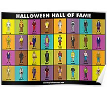 Halloween Hall of Fame POSTER Poster