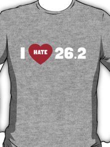 I love hate 26.2 T-Shirt