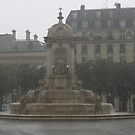 Rainy day in Paris (please view large) by Elena Skvortsova