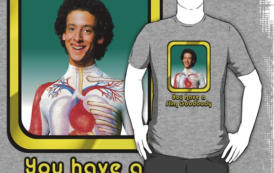 Slim Goodbody - You Have a Slim Goodbody  by DGArt