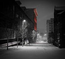 Severn Street in the Snow by Tim Cornbill