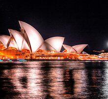 Opera House selebrating 40 by andreisky
