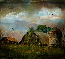 Clouds Above the Barn by PineSinger