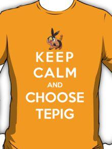 Keep Calm And Choose Tepig T-Shirt