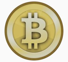 Bitcoin (Large) by krop ★ $1.49 stickers