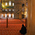 In the Mosque by Barbara  Brown