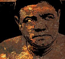 BABE RUTH by OTIS PORRITT