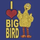 I Love Big Bird by boobs4victory