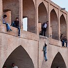 Bridge Playground, Esfahan, Iran by Jane McDougall
