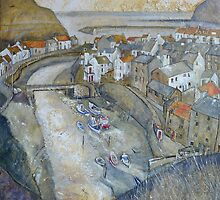 Roxby Beck 2, Staithes by Sue Nichol