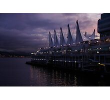 Purple Dawn in Vancouver  Photographic Print