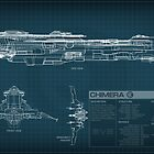 EVE Online - Chimera Schematic by Titch-IX