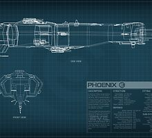 EVE Online - Phoenix Schematic by Titch-IX