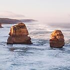 The twelve apostles as sunrise by bluetaipan