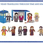 Doctor Who 50 years through Time and Space by HappyDoctors
