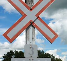 Railway Crossing Sign by rhamm