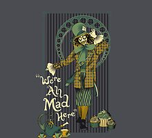 Spooky Mad Hatter Iphone by EdWoody
