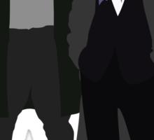 Ichabod Crane and Sherlock Holmes (BBC Version) Sticker