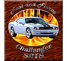 Dodge Challenger SRT8 Fast and Fierce Photographic Print