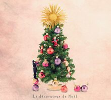 The Christmas decorator by Yann Pendaries